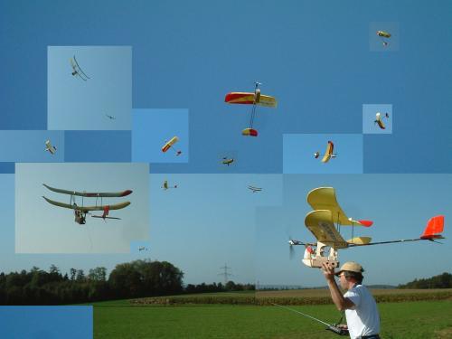 Modified Wingo Porter in the air